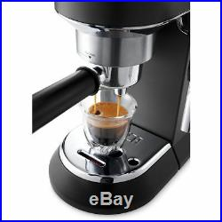De'Longhi Pump Espresso Coffee Machine & Frother Black EC685. BK