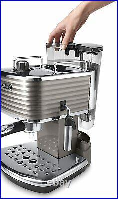 De'Longhi Scultura Traditional Barista Pump Espresso Machine, Coffee and Cappucc