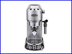 Delonghi Dedica Pump Espresso Coffee Machine Metal EC 685. M De'longhi Machine