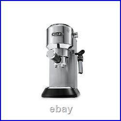 Delonghi EC685. M Dedica Pump Espresso Coffee Machine Stainless Steel