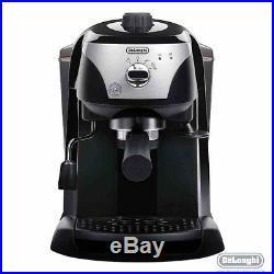 Delonghi ECC221. B Traditional Pump Espresso Coffee Machine In Black