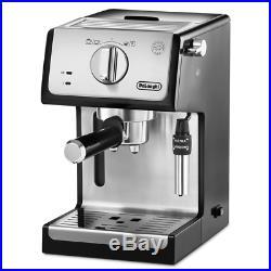 Delonghi ECP35.31 Traditional Pump Espresso Coffee Maker Machine in Silver/Black