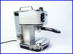 Delonghi ECZ351W Scultura Traditional Espresso Coffee Machine White