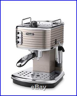 Delonghi ECZ351. BG Scultura Traditional Espresso Coffee Machine 1100W Champagne