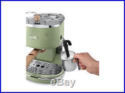 Delonghi Icona Vintage ECOV 311. GR Espresso Coffee Machine Green Genuine NEW