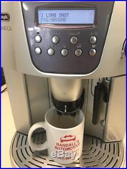 Delonghi Magnifica ESAM 4400 Espresso Machine Cappuccino Coffee Tested Working