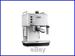 Delonghi Scultura ECZ 351. W White Espresso Coffee Machine Genuine NEW