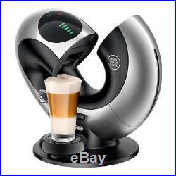 Dolce Gusto Silver Eclipse Touch Coffee Maker Espresso Cappuccino Pods Machine