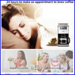 Donlim DL-KF4266 220V 900W 1.5L Fully Automatic Espresso Coffee Maker Machine