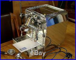 ECM espresso coffee machine, Giotto Rocket, No Reserve