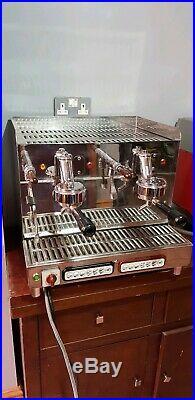 Elektra Sixties T3 2 group compact traditional espresso coffee machine