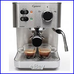Espresso Coffee Machine Capresso Capuccino Latte Make Commercial Barista Brewer