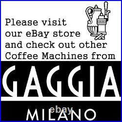 Espresso Coffee Machine Gaggia Gran Style RI8423/11 Black