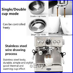Espresso Coffee Machine Maker Bar Cappuccino Latte 2.1L The Barista
