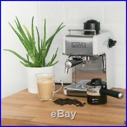 Espresso Coffee Machine Professional Cappuccino Latte Barista Electrical 800W