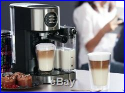 Espresso Coffee Machine With Milk Frother SILVERCREST Free Next Day UK Delivery