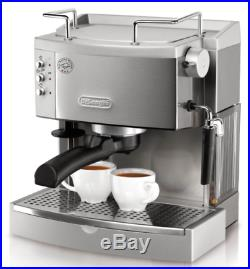 Espresso Machine Maker Stainless Steel Cappuccino Coffee Machines Latte Bar NEW
