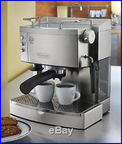 Espresso Maker Machine Kitchen Stainless Coffee Automatic Drip 15-Bar-Pump