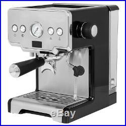 Espresso and Coffee Machine, 15 Bar with Milk Frother Espresso Maker