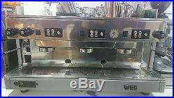Espresso coffee machine comercial 3 face