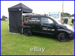 Espresso coffee van ideal Xmas present for barista to start own Mobile business