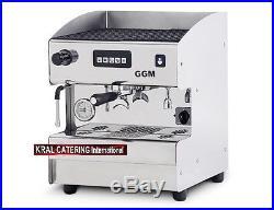 Espresso machine coffee maker 1 group, 2000W Italian design 230V (£1016.67+VAT)