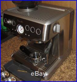 Excellent Breville BES870XL Barista Express Espresso Coffee Machine Works Great