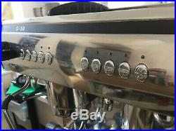 Exobar g10 commercial coffee machine 2 group espresso less than one year use