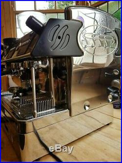 Expobar 2 Gang Espresso Coffee Machine integrated grinder and knock box & filter