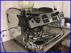 Expobar 2 Group Espresso Machine With Built In Grinder