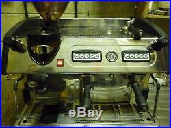 Expobar 2 group elegance espresso system with integeral1 kilo grinder