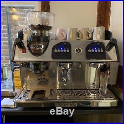 Expobar Markus 2 Group Plus Commercial Espresso Machine with Integral Grinder