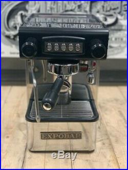 Expobar Office Control 1 Group Stainless Espresso Coffee Machine Home Office Cup