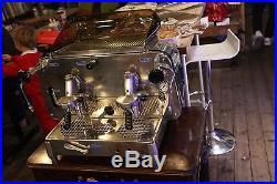 Faema e61 2 group espresso machine built 1973