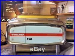 Faema e61 Legend 2 Group Espresso Machine. Semi-Auto. Serviced and Refurbished