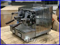 Fiorenzato Ducale 2 Group Compact Stainless Espresso Coffee Machine Restaurant