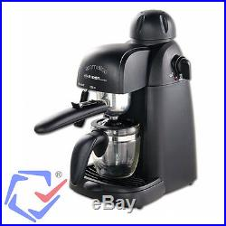 First 800W 4 Bar Espresso Capuccino Maker Coffee Machine w Milk Frothing Arm