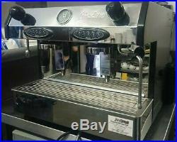 Fracino Bambino 2 Group Automatic Espresso Coffee Machine heads, jugs pods inc