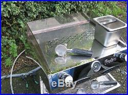 Fracino Bambino 2 Group Espresso Coffee Machine full chrome model