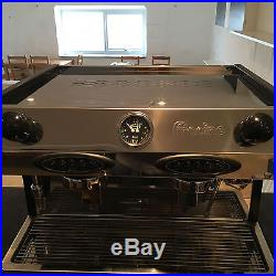 Fracino Bambino 2 Group Espresso Coffee Machine with Grinder & Knock Out Drawer