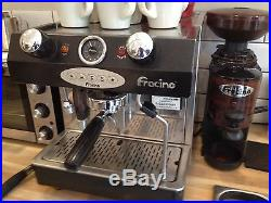 Fracino Bambino Single Group Electronic Espresso Machine Full Working Order