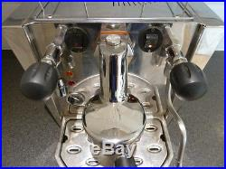 Fracino Cherub Espresso Coffee Machine 1 group Steam Hot Water Grinder, Drawer
