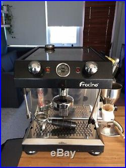 Fracino Little Gem, 1 Group Coffee Espresso & Milk machine, Self contained tank
