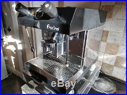 Fracino commercial coffee machine semi automatic cafe shop restaurant espresso