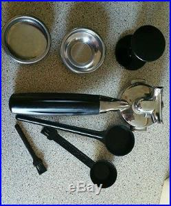 Fracino piccino hand filled Coffee And Espresso Maker -black coffee machine