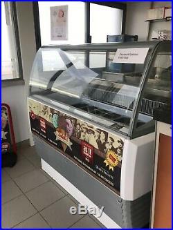 Full Espresso Coffee Machine and Ice Cream Freezer Equipment Start Up