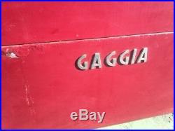 GAGGIA 3 station Vintage Gas/Elec Commercial espresso coffee machine