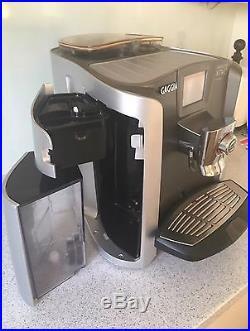 Gaggia Cappuccino Latte Xtwo X2 One Touch Espresso Coffee Machine Auto Beantocup