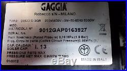 GAGGIA Deco 2 Group Coffee Espresso Machine 6 Months Parts Warranty