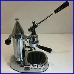 GAGGIA FACTORY MACCHINA CAFFE' COFFEE MACHINE ESPRESSO VINTAGE la pavoni arrarex